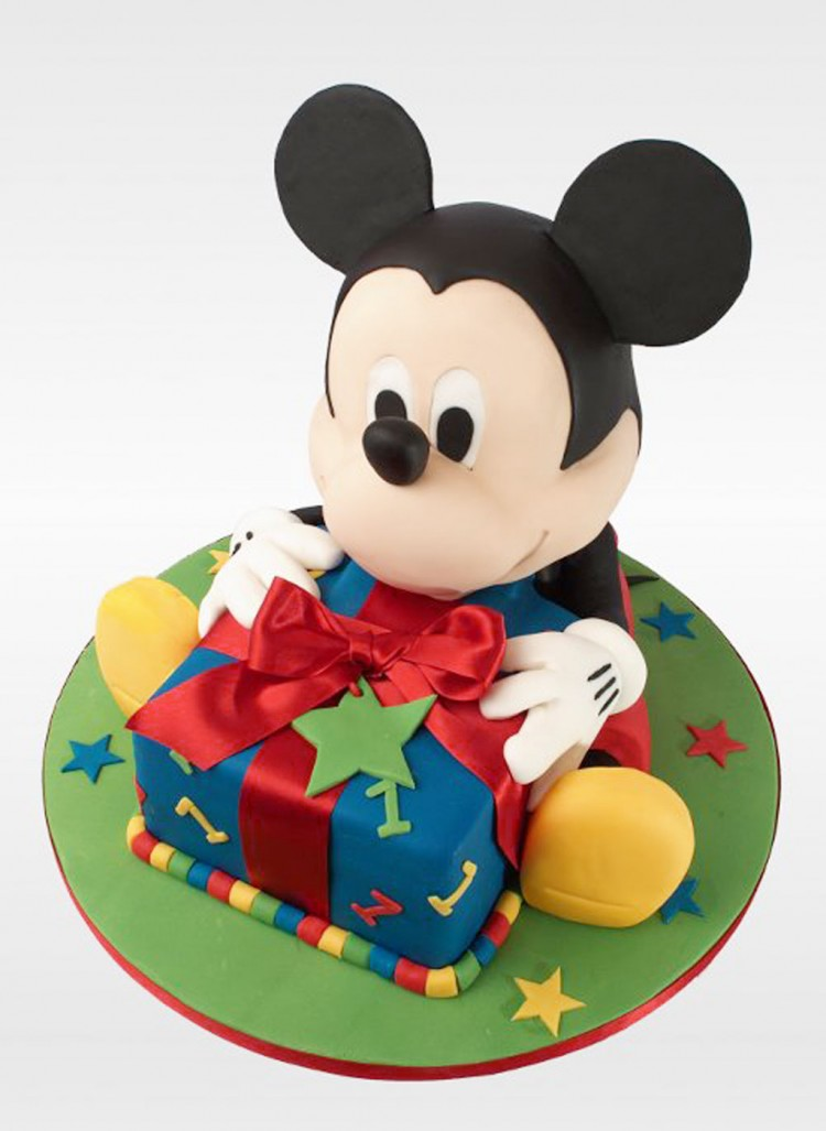 Mickey Mouse Birthday Cakes Picture in Birthday Cake