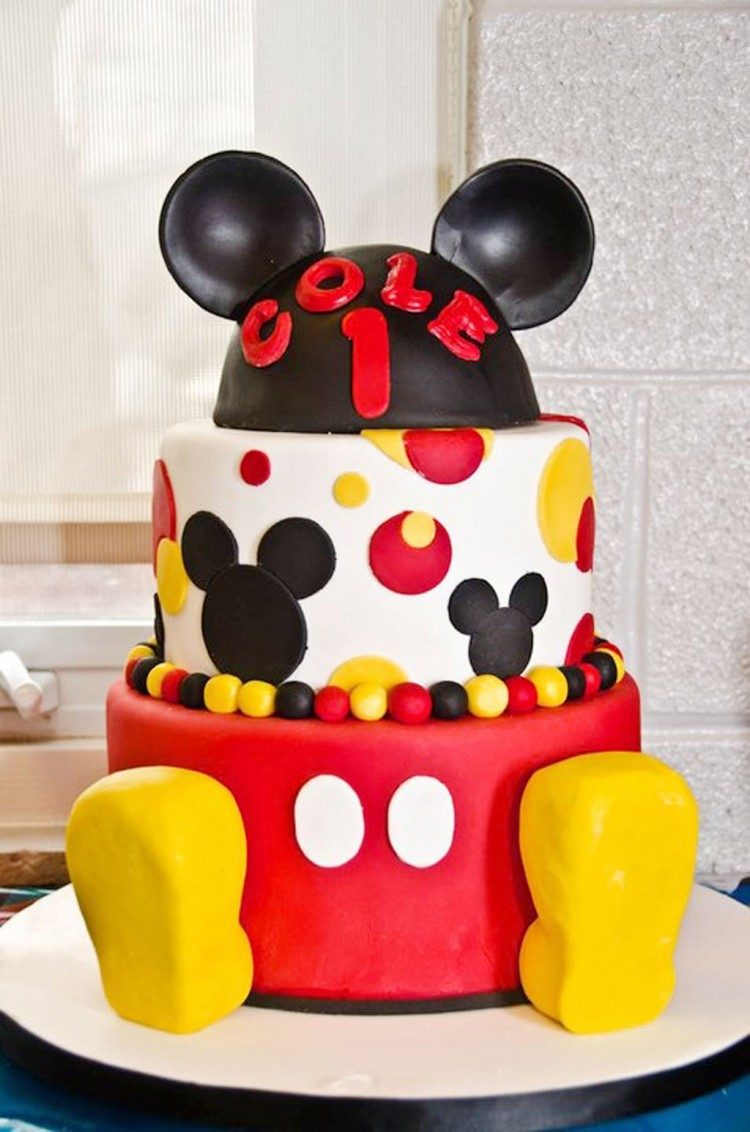 Mickey Mouse Birthday Cakes For Sale Picture in Birthday Cake