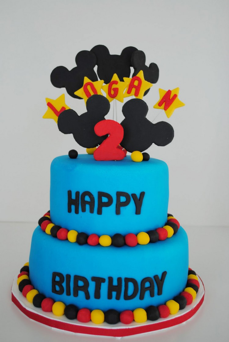 Mickey Mouse Birthday Cakes Singapore Picture in Birthday Cake