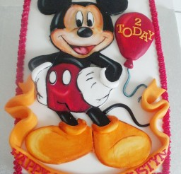 1024x1365px Mickey Mouse Birthday Party Ideas Picture in Birthday Cake