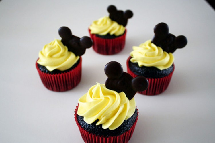 Mickey Mouse Cupcake Ideas For Birthday Picture in Birthday Cake