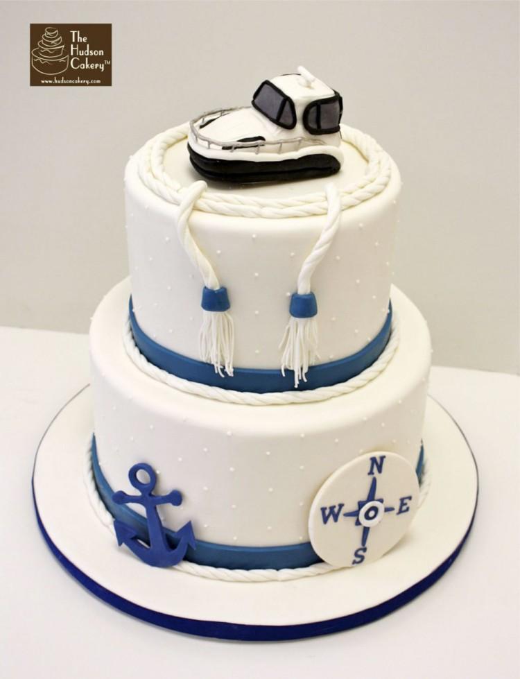 Nautical Wedding Cake Ideas Picture in Wedding Cake