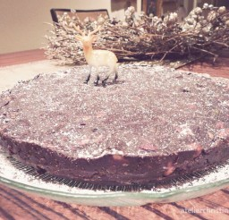 1024x768px No Bake Jeweled Chocolate Cake Recipe Picture in Chocolate Cake