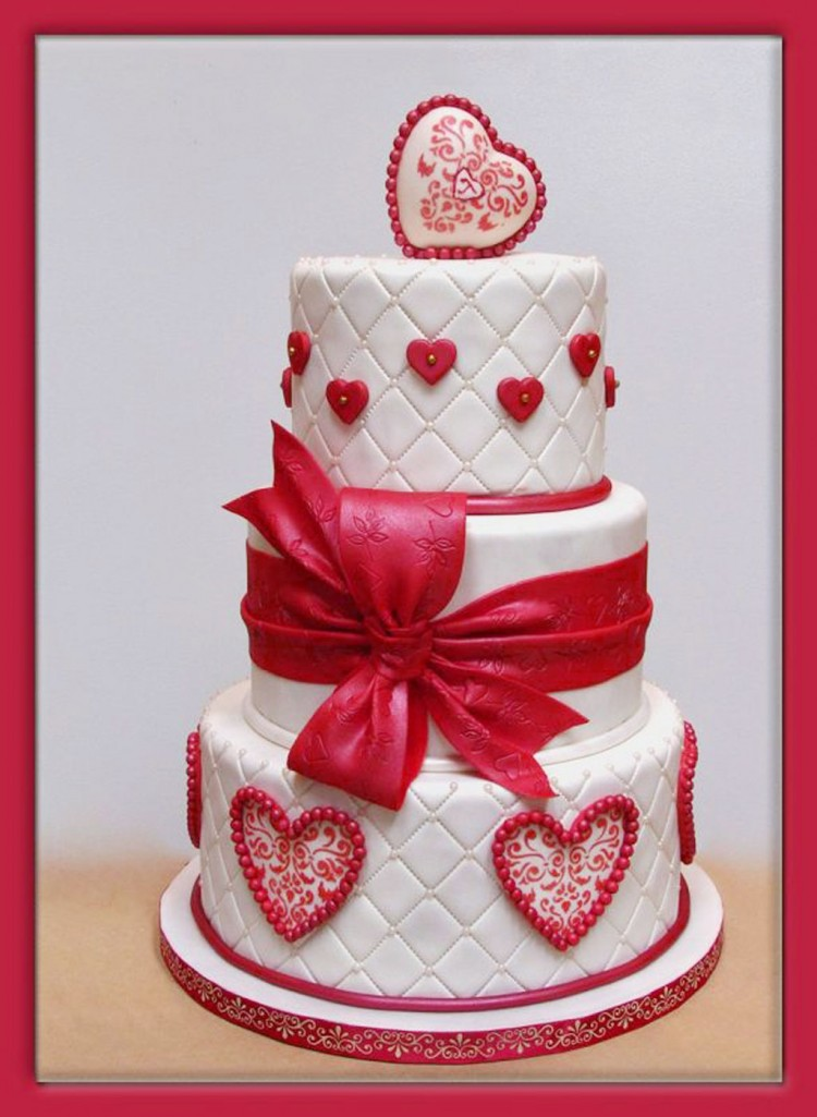 Normal Terris Valentine BD Picture in Cake Decor