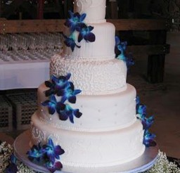 1024x1388px Orchids Wedding Cakes Ideas Picture in Wedding Cake