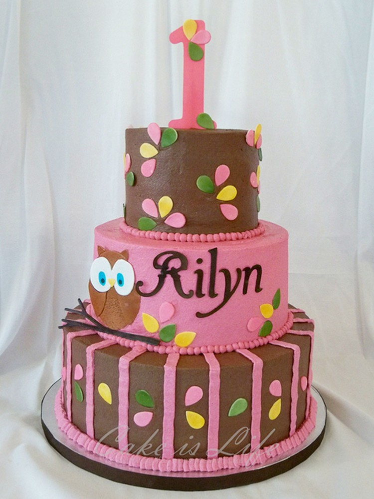 Owl Birthday Cakes Ideas Picture in Birthday Cake