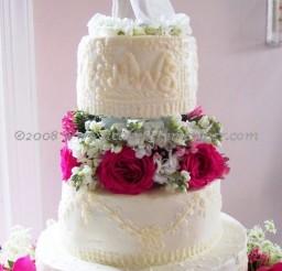 1024x1537px Pearl Wedding Cakes Richmond Va Picture in Wedding Cake
