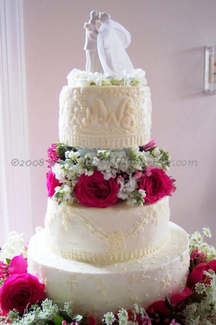 Pearl Wedding Cakes Richmond Va Picture in Wedding Cake