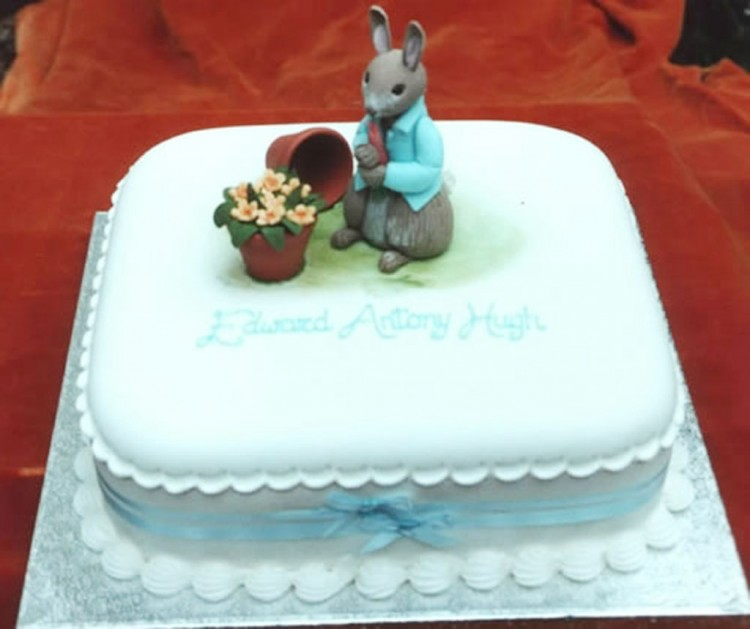 Peter Rabbit Birthday Cake Ideas Picture in Birthday Cake