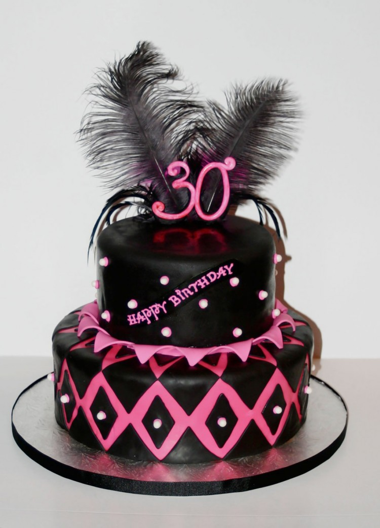 Photos Of 30th Birthday Cakes For Women Picture in Birthday Cake