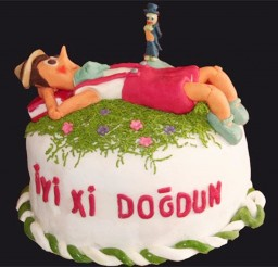 1024x905px Pinocchio Birthday For A Little Boy Picture in Birthday Cake