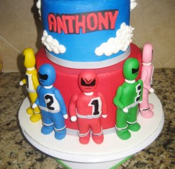 1024x1365px Power Rangers Childrens Birthday Cakes Picture in Birthday Cake