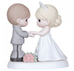 1024x1024px Precious Moments Wedding Cake Toppers Figurine Picture in Wedding Cake