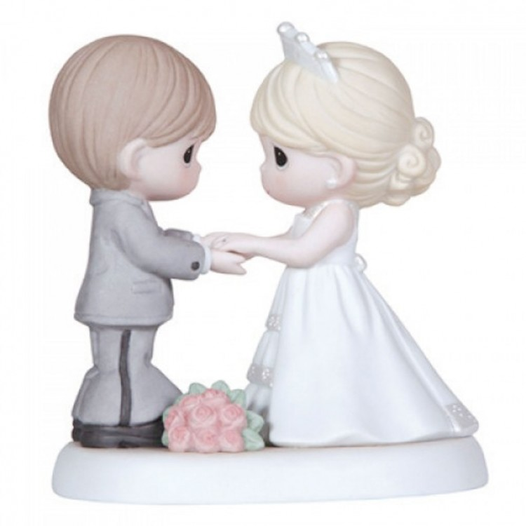 Precious Moments Wedding Cake Toppers Figurine Picture in Wedding Cake