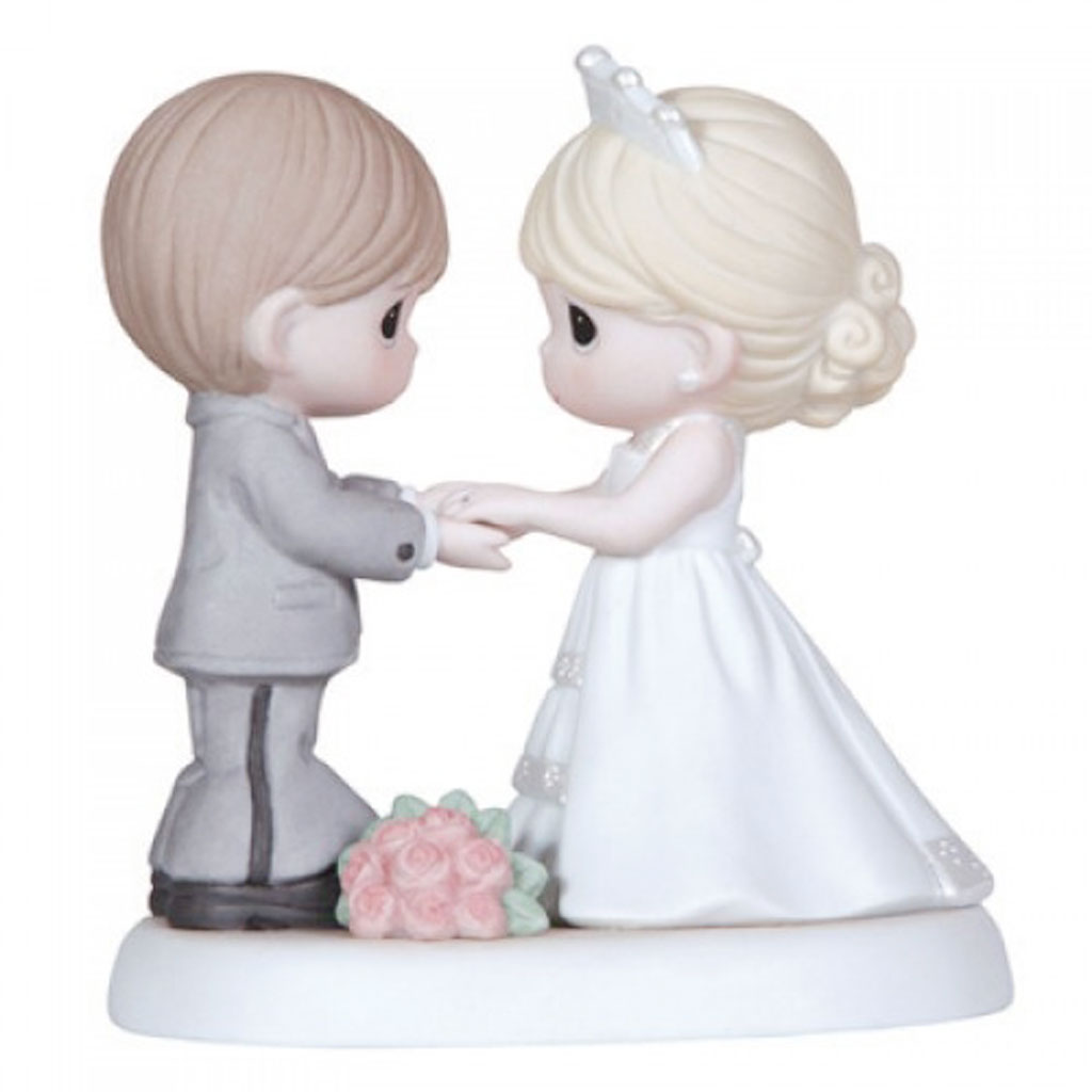 Cake Decor Figurines : Precious Moments Wedding Cake Toppers Figurine Wedding ...