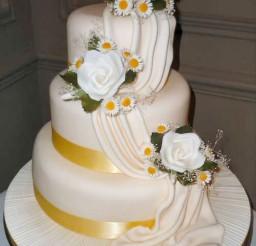1024x1436px Pretty Wedding Cake Decorate Picture in Wedding Cake