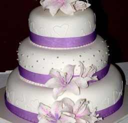 1024x1412px Purple Wedding Cake Picture in Wedding Cake