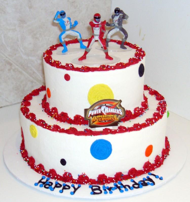 Rangers Birthday Cake Picture in Birthday Cake