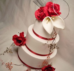 1024x1270px Red Wedding Cake Toppers 333 Picture in Wedding Cake