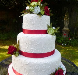 1024x1365px Red Wedding Cakes Images Picture in Wedding Cake