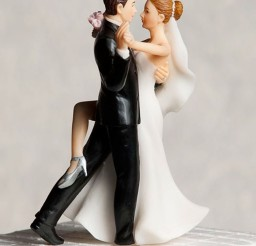 1024x1275px Romantic Dancing Wedding Cake Toppers Picture in Wedding Cake