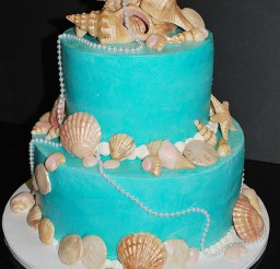 1024x1531px Round Seashell Wedding Cakes Picture in Wedding Cake