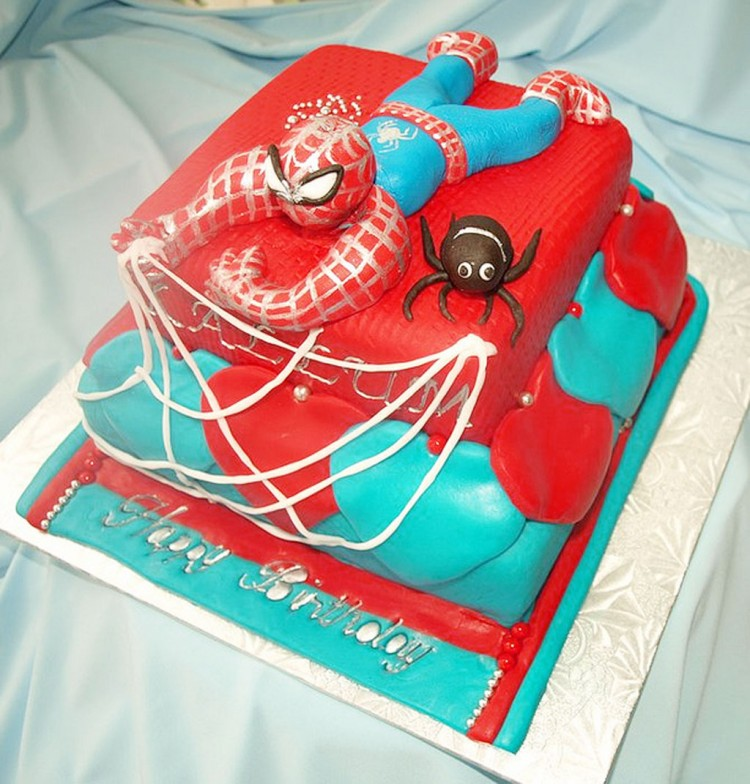 Schnucks Birthday Cakes Spiderman Designs Picture in Birthday Cake