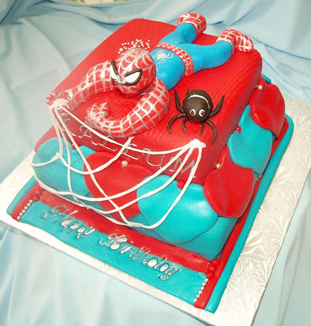 Schnucks Birthday Cakes Spiderman Designs Birthday Cake Cake Ideas