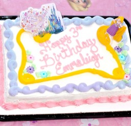 1024x753px Schnucks Tangled Rapunzel Birthday Cake Picture in Birthday Cake
