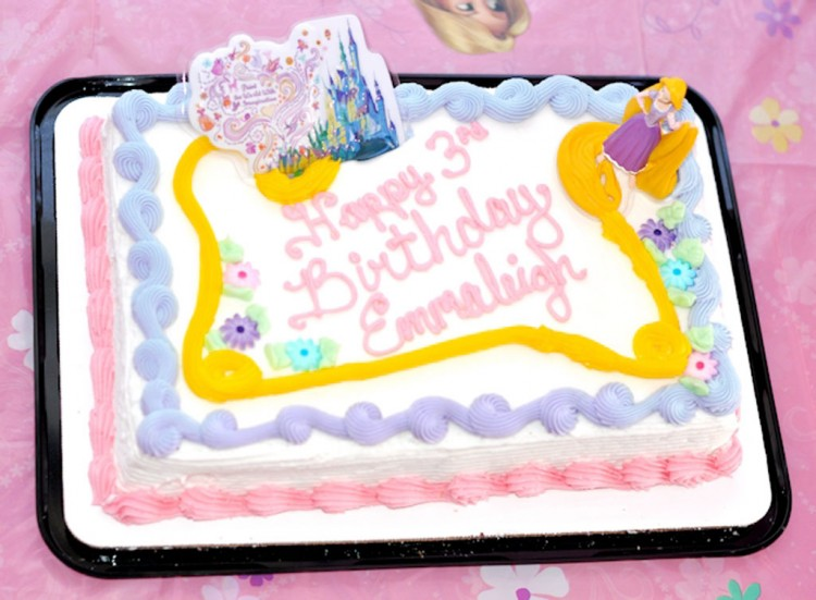 Schnucks Tangled Rapunzel Birthday Cake Picture in Birthday Cake