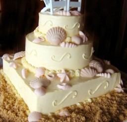 1024x1212px Seashell Wedding Cake Pictures Picture in Wedding Cake