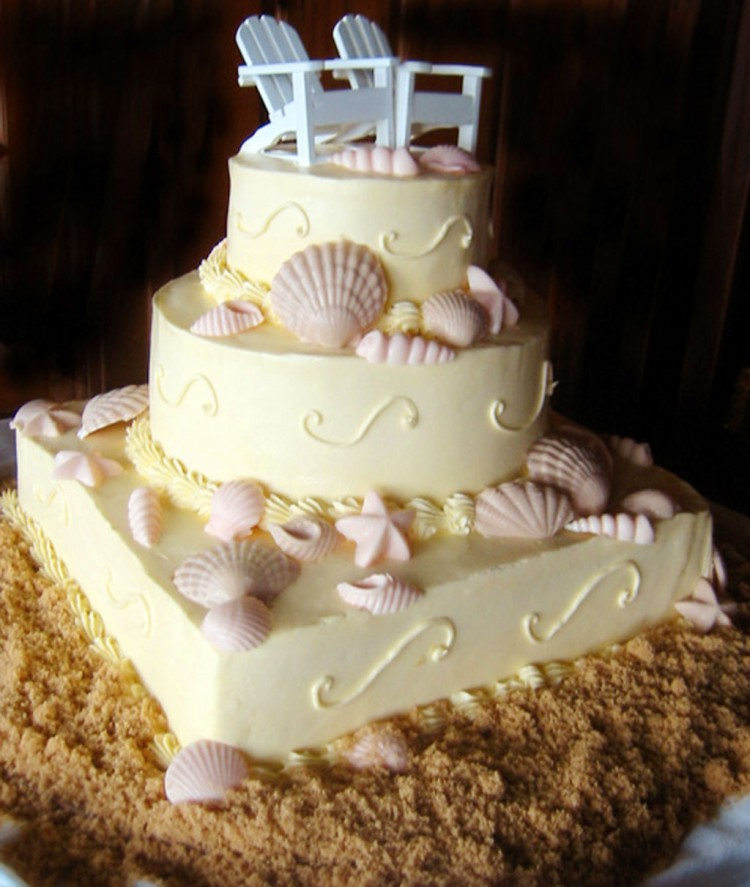 Seashell Wedding Cake Pictures Picture in Wedding Cake