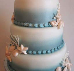 1024x1365px Seashell Wedding Cakes Design Picture in Wedding Cake