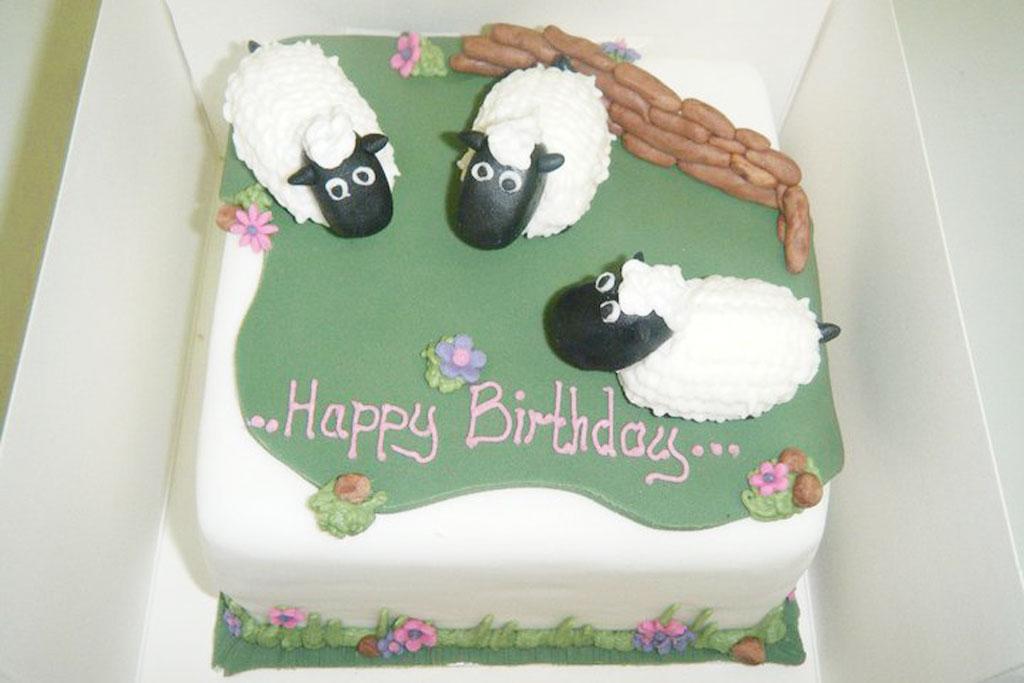 Sheep Birthday Cake Birthday Cake Cake Ideas By Prayface
