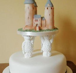 1024x1571px Sheep Pillars Wedding Cake Picture in Wedding Cake