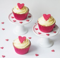 1024x954px Simple Valentines Cupcakes Picture in Valentine Cakes
