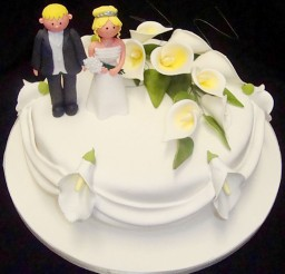 1024x1229px Single Layer Wedding Cake Pictures 2 Picture in Wedding Cake