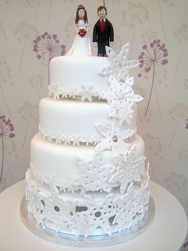 Snowflake Wedding Cake Pictures Picture in Wedding Cake
