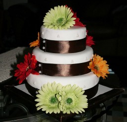 1024x1138px Square Geber Daisy Wedding Cakes Picture in Wedding Cake