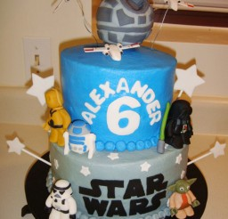 1024x1365px Star Wars Birthday Cakes Decorations Picture in Birthday Cake