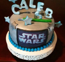 1024x1365px Star Wars Cake For Birthday Picture in Birthday Cake