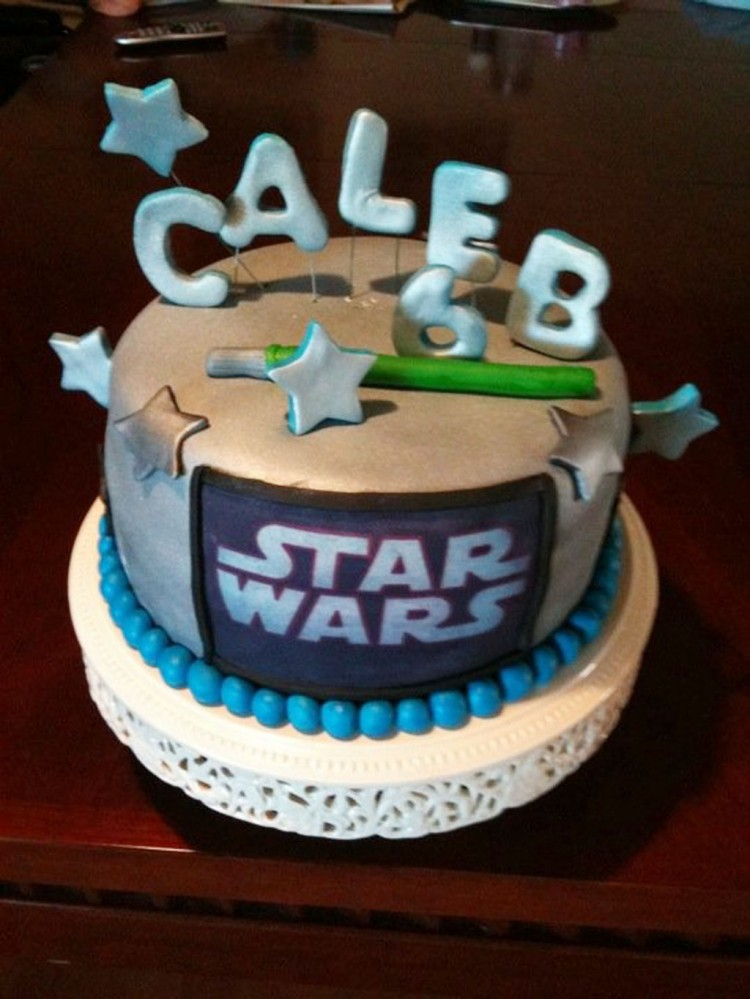 Star Wars Cake For Birthday Picture in Birthday Cake