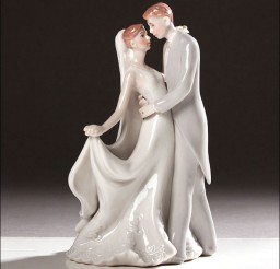 1024x1024px Stylized Dancing Wedding Cake Topper Picture in Wedding Cake