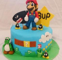 1024x1241px Super Mario Bros Birthday Cake Picture in Birthday Cake