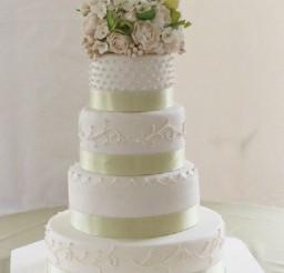 1024x1404px Super Moist White Wedding Cake Recipe Picture in Wedding Cake