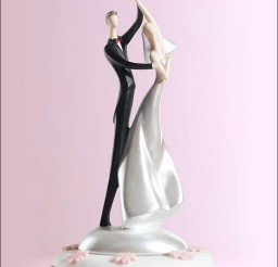 1024x1024px Swing Dancing Wedding Cake Toppers Picture in Wedding Cake