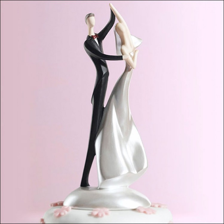 Swing Dancing Wedding Cake Toppers Picture in Wedding Cake