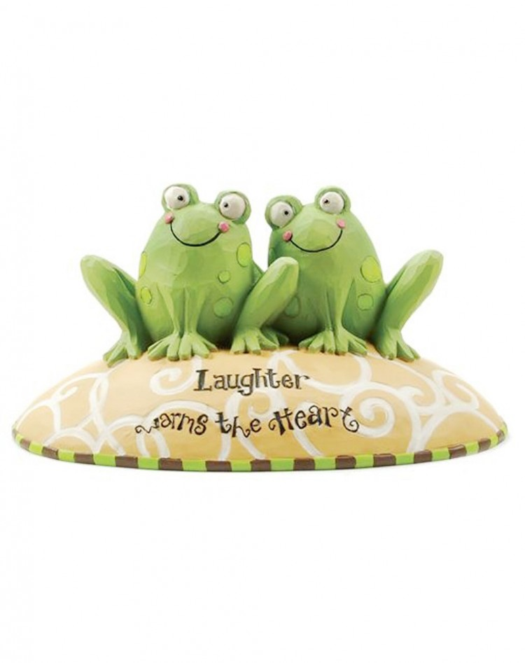 The Heart Frog Wedding Cake Topper Picture in Wedding Cake