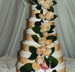 1024x1751px Tier Wedding Cake Multiple Fillings Picture in Wedding Cake