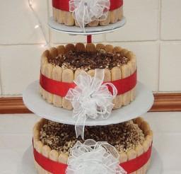 1024x1365px Tiramisu Wedding Cake Decoration 2 Picture in Wedding Cake